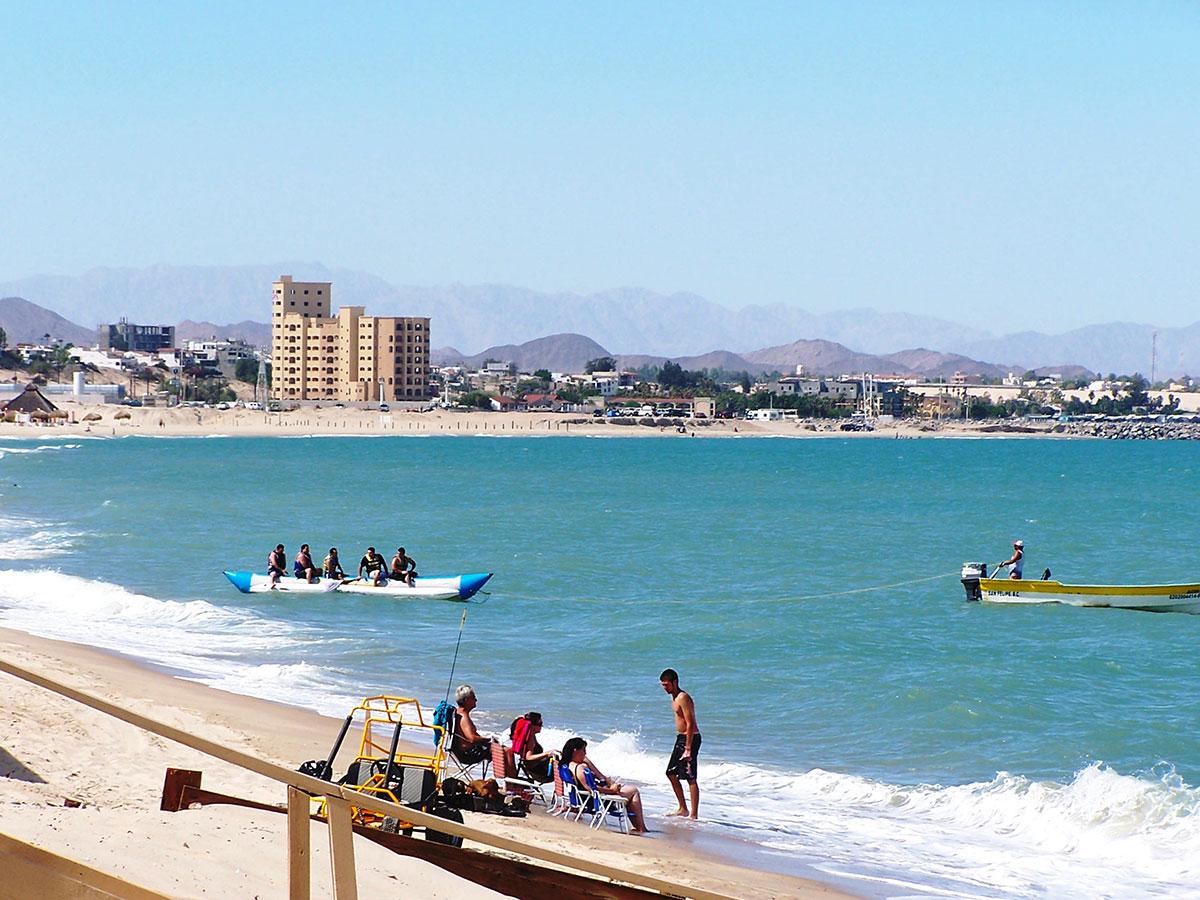Places to see and sleep in San Felipe, still one of Baja's ... |San Felipe Beach